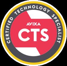 AVIXA CTA Certified Technology Specialist